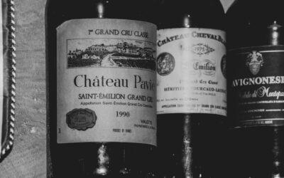 Weinliste aus Österreich und Frankreich